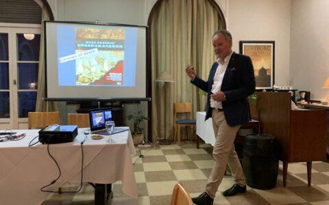 Föreläsning i Buenos Aires, på Club Sueco